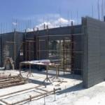 Maison BBC réalisée en  bloc coffrant isolant sismo- IBS Distribution