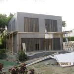 Villa en bloc de coffrage isolant sismo- Villa moderne  - IBS Distribution