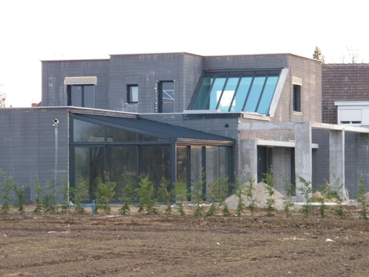 Construction Bbc Avec Le Coffrant Isolant Sismo Maison