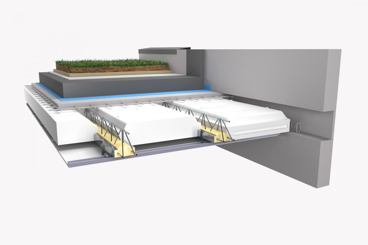 Plancher hourdis plein toit terrasse
