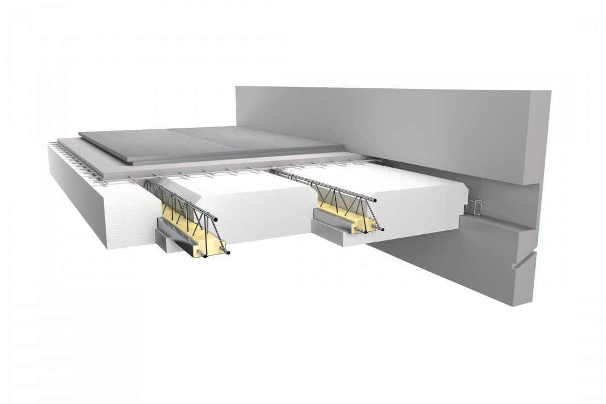 Plancher haut de vide sanitaire